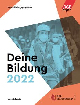 DGB-Jugendbildungsprogramm 2022 Titel