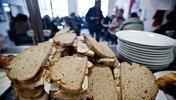 Belegte Brote in der Bahnhofsmission