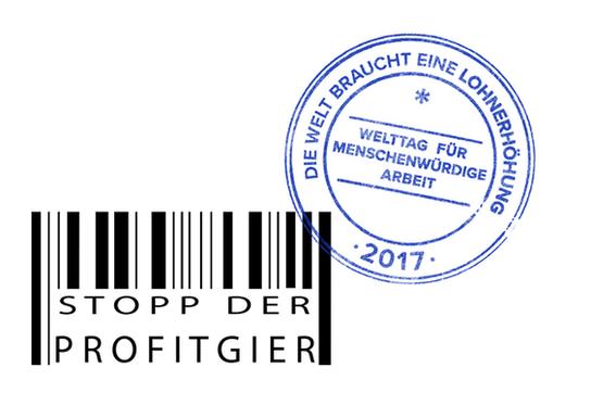 Welttag für menschenwürdige Arbeit Logo