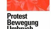Buchtitelblatt, eine junge Frau ruft etwas, sie demonstriert