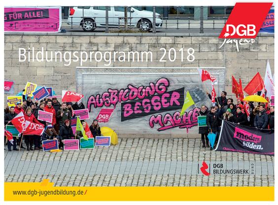 Jugendbildungsprogramm Junge Menschen auf der Demo