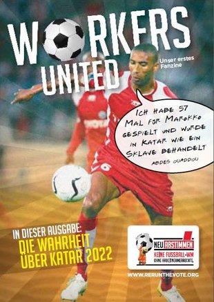 Katar Fan Magazin Cover Fußballspieler