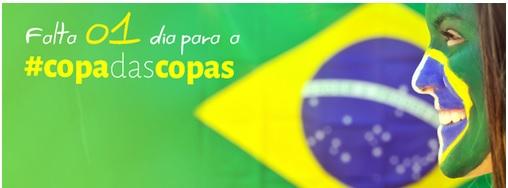 Brasilien mit Ball