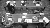 Studierende in der Bibliothek
