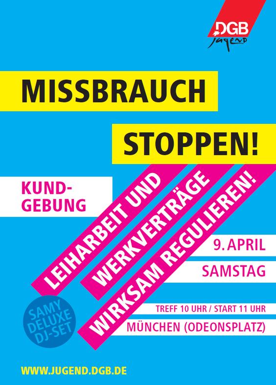Demo-Plakat