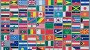 verschiedene Länderfahnen