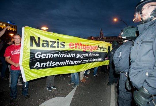 Anti Nazi Demo