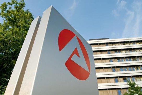 Bundesagentur Logo vor Hochhaus