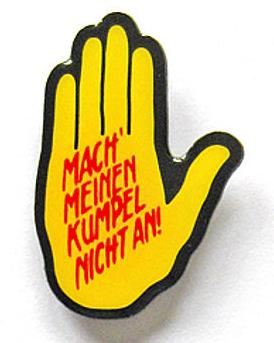 Gelbe Hand Logo