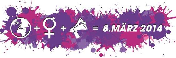 Frauenkampftag Logo