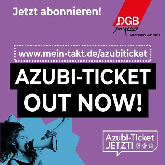 Azubi-Ticket Out Now!