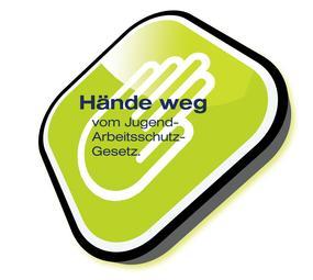 Logo Hände web vom JArbSchG