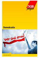 Cover der Broschüre zu Demokratie