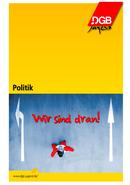Cover der Broschüre über Politik