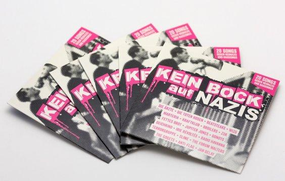CD: Kein Bock auf Nazis - Cover