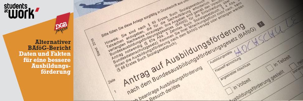 Alternativer BAföG-Bericht