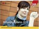 DGB-Jugend-Bildungsprogramm 2017