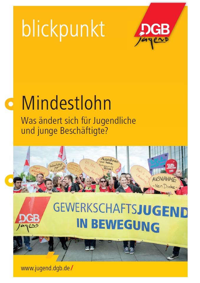 Cover Blickpunkt Broschüre