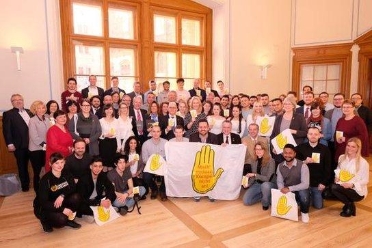 Gelbe Hand: Die Gewinner