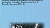 """Cover des Ausbildungsreports 2005 der DGB-Jugend Berlin-Brandenburg; Bild: geparkte DGB-Busse; Überschrift: """"Berlin-Brandenburger Ausbildungsreport 2005. Beobachtungen, Analysen und Standpunkte nach drei Monaten Berufsschultour in Brandenburg und Berlin""""; Logo: DGB-Jugend; DGB-Jugend Berlin-Brandenburg (Hg.)"""