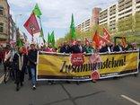 Zusammenstehen in Erfurt