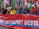 DGB-Demo am Start: Mit Reiner Hoffmann