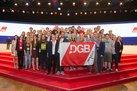 DGB-Jugend mit Fahne