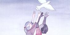 Antikriegstag-Plakat der DGB-Jugend
